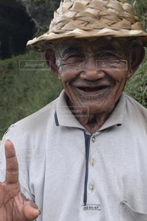 農家のおじちゃんの写真・画像素材[1489831]