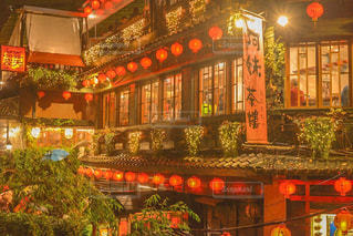 夜景,雨,海外,アジア,観光,旅行,旅,台湾,九份