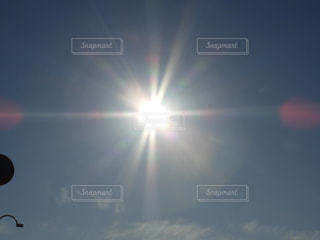 空,屋外,太陽,日光,光,明るい,快晴,景観
