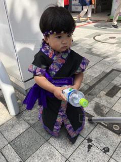子ども,夏,かわいい,暑い,沖縄,エイサー