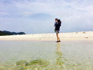 無人島での写真・画像素材[1405030]