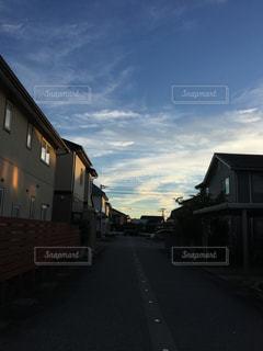 雲,青空,景色,道,景観