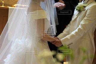 ウェディング ドレスの人の写真・画像素材[784870]