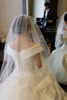結婚式直前の写真・画像素材[784919]