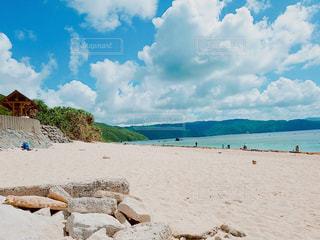 自然,空,砂,砂浜,海岸,日中