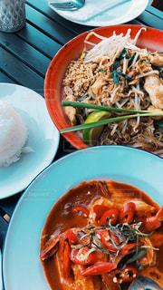 海外,カレー,料理,タイ料理,海外旅行,パッタイ,食欲,ココナッツカレー,シュリンプカレー
