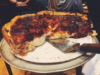 海外,チーズ,料理,海外旅行,トラベル,食欲,アメリカ旅行,シカゴピザ