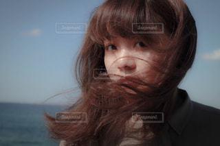 風を感じての写真・画像素材[1527465]
