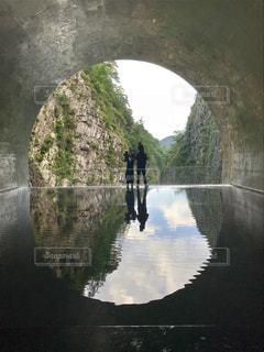 トンネルの写真・画像素材[1396953]