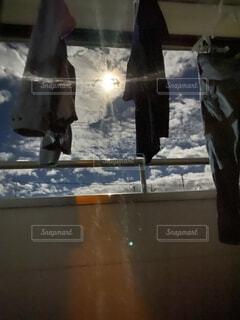 明るい満月の写真・画像素材[4924672]
