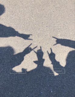 青春の影の写真・画像素材[4565703]