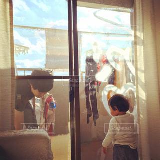 秋晴れ,掃除,窓掃除,お掃除