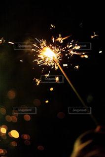 空に花火の写真・画像素材[1451588]