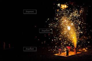 夜花火の写真・画像素材[1451589]