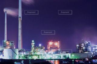工場夜景の写真・画像素材[1681467]