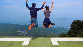 ジャンプ!!の写真・画像素材[2989737]