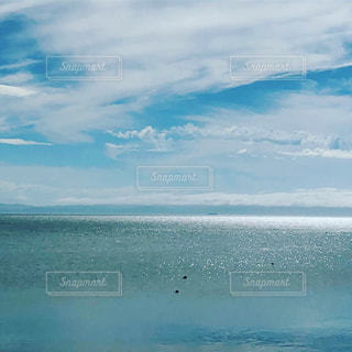 水の大きな体の写真・画像素材[1405566]