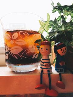 冷え冷えのコーラの写真・画像素材[1412397]