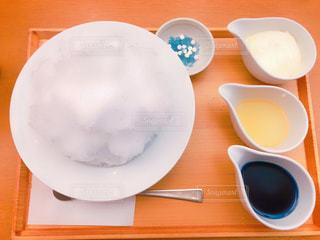真っ白い雪にお好みでの写真・画像素材[1407127]