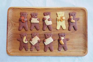 秋,木の実,ナッツ,お菓子,クッキー,料理,チョコ,くま,手作り,手作りお菓子,熊,食欲,食いしん坊,クマ,くまちゃん