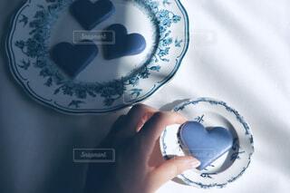 青いチョコの写真・画像素材[4240261]