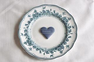 ブルーのチョコの写真・画像素材[4240260]