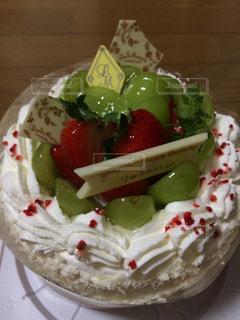 クリーム,デザート,果物,ブドウのショートケーキ