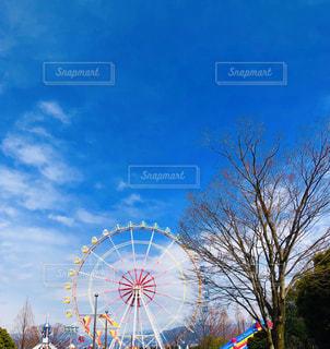 青空と観覧車の写真・画像素材[1997792]