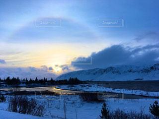 空,海外,旅行,旅,rainbow,アイスランド