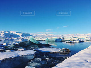 空,雪,海外,白,青,旅行,旅,iphone,氷河,アイスランド