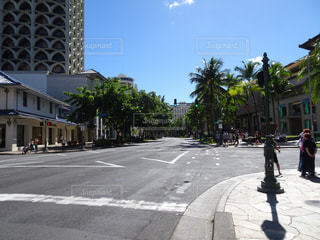 風景,空,建物,海外,雲,青空,道路,街,観光,旅行,交差点,ホテル,ハワイ,リゾート,海外旅行,タウン