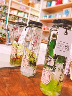 インテリア,花,植物,瓶,机,雑貨,可愛い,ハンドメイド,手作り,タグ,趣味,おしゃれ,ハーバリウム
