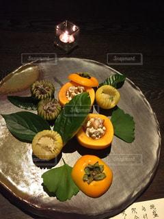食べ物,料理,おいしい,秋の味覚,柿の白和え