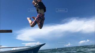海,空,青,未来,夢,ポジティブ,明日,jump,可能性