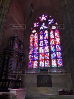 ステンドグラス,プラハ,チェコ,修道院