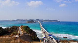 角島大橋の写真・画像素材[1427449]