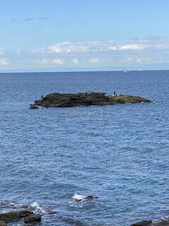 自然,海,空,屋外,湖,ビーチ,水面,岩