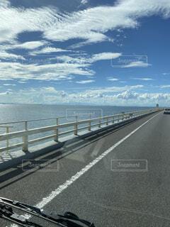 風景,空,屋外,雲,道路,高速道路,道,日中