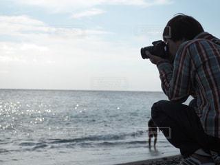 海,カメラ,日差し,光,旅行,ポートレート,仲間,ライフスタイル,レジャー・趣味,色・表現