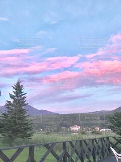 空,ピンク,雲,桃色,薄ピンク