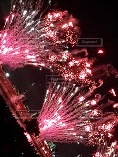 屋外,ピンク,花火,明るい,景観,フォトジェニック,インスタ映え