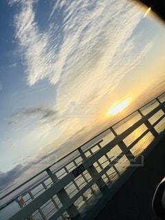 空,秋,夕日,屋外,夕陽,秋晴れ,インスタ映え
