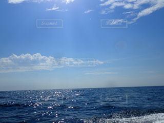 青空,ダイビング,夏の終わり,秋空,海と空