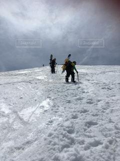 雪山登山の写真・画像素材[1712212]