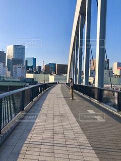 男性,橋,東京,晴れ,散歩,外,築地,お散歩,外出,お外,中央区,お散歩デート