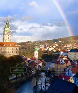 都市の虹の写真・画像素材[2511340]