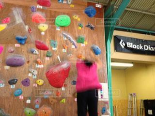 スポーツ,屋内,カラフル,鮮やか,女の子,ボルダリング,クライミング