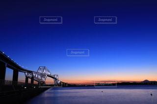 東京湾ゲートブリッジと富士山の写真・画像素材[1682523]