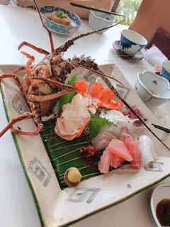 食べ物,秋,魚,南国,宮崎県,食,伊勢海老,大海,食欲の秋,刺し身