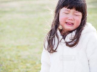 悲しい顔の写真・画像素材[1819499]